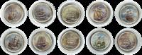 Série de monnaies Voiliers