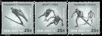 Rusland - Olympics Sochi 2011 - Postfrisk sæt 3v