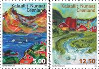 Grønland - Sange - Postfrisk 2v