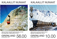 Greenland - Mines - Mint set 2v