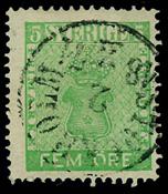 Sweden 1858 - AFA 7 cancelled