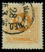 Sweden 1872 - AFA no. 23 cancelled