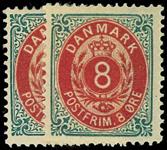 Danmark 1875 - AFA nr.25,y Ubrugt