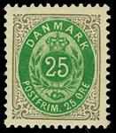 Danmark 1895 - AFA nr.29By Ubrugt