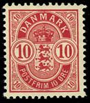 Danmark 1895 - AFA nr.35B Postfrisk