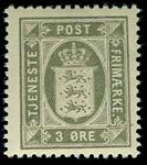 Danmark 1914-20 - AFA nr.12 Postfrisk
