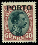 Danmark 1921 - AFA nr.7 Postfrisk
