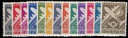 Curacao - Vliegtuig 1947 (LP 69-81, postfris)