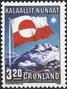 Greenland - 1989. 10th Anniversary of Internal Autonomy - 3,20 kr
