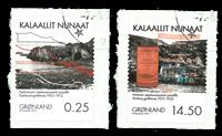 Grønland - Minedrift - Stemplet sæt 2v