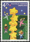 Greenland - 2000. Europa - 4,75 kr - Multicoloured