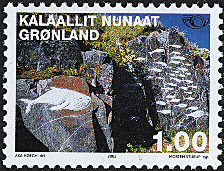 Grønland - 2002. Nordenfrimærker - 1,00 kr. - Flerfarvet