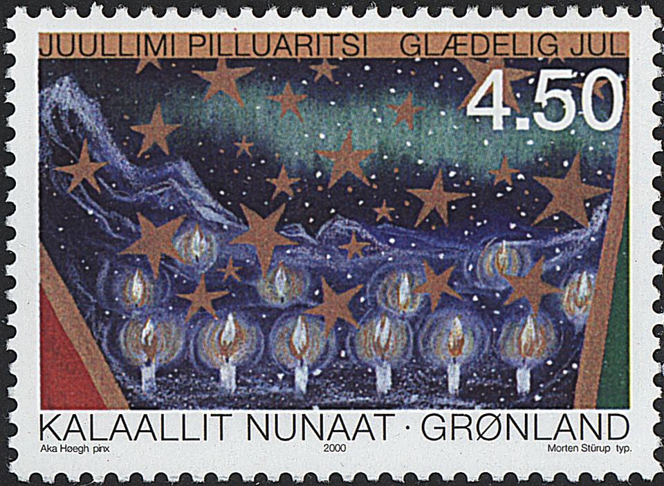 Grønland - 2000. Julefrimærker - 4,50 kr. - Flerfarvet