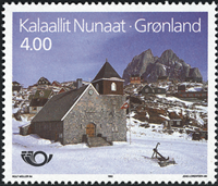 Greenland - 1993. Nordic Issue - 4,00 kr. - Multicoloured