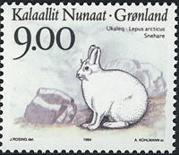 Greenland - 1994. Animals of Greenland Part II - 9,00 kr - Multicoloured