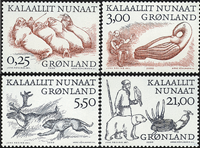 Greenland - 2000. Arctic Vikings Part II - Complete set
