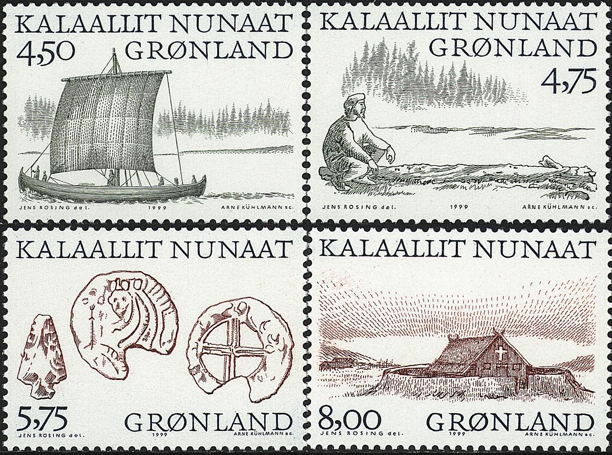 Grønland - 1999. Arktiske vikinger I - Komplet sæt