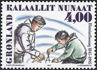 Greenland - 1995. 150th Anniversary of Nuuk Training College - 4,00 kr