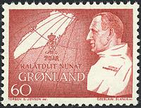 Grønland - 1969. Frederik IX's 70 års fødselsdag -   60 øre - Rød