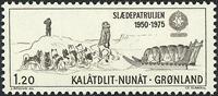 Greenland - 1975. Sirius Dog Sledge Patrol - 1,20 kr. - Brown