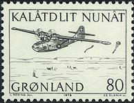 Grønland - 1976. Flyvemaskine