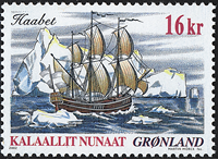 Greenland - 2002. Famous Ships Part I - 16 kr. - Multicoloured