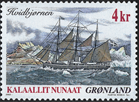 Greenland - 2002. Famous Ships Part I - 4 kr. - Multicoloured