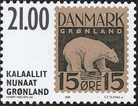 Greenland - 2001 The Stamps That Were Never Issued  - 21,00 kr - Brown/Black