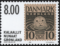 Greenland - 2001. The Stamps That Were Never Issued - 8,00 kr - Brown/Black