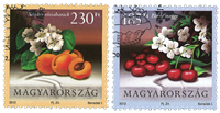Hungary - Fruits - Cancelled set 2v