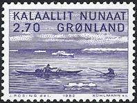 Grønland - 1982. Jakob Danielsen - 2,70 kr. - Blåviolet
