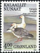 Greenland - 1990. Birds Series Part IV - 4,00 kr -  Multicoloured