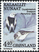 Greenland - 1989. Birds Series Part III - 4,40 kr - Multicoloured