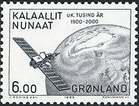 Greenland - 1985 Millenium Series Part V. Years 1800-2000 - 6,00 kr - Black