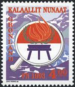 Greenland - 1993. UN International Year of indigenous People - 4,00 kr.