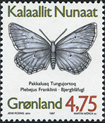 Greenland - 1997. Butterflies Part I - 4,75 kr - Multicoloured