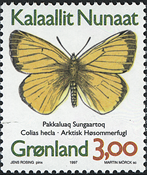 Greenland - 1997. Butterflies Part I - 3,00 kr - Multicoloured