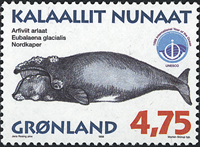 Greenland - 1998. Whales Part III - 4,75 kr - Multicoloured
