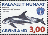Greenland - 1998. Whales Part III - 3,00 kr - Multicoloured