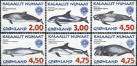 Greenland - 1998. Whales Part III - Complete set