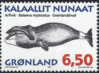 Greenland - 1996. Whales of Greenland Part I - 6,50 kr - Multicoloured