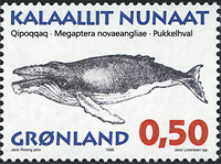 Greenland - 1996. Whales of Greenland Part I - 0,50 kr - Multicoloured