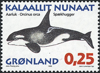 Greenland - 1996. Whales of Greenland Part I - 0,25 kr - Multicoloured