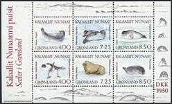 Grønland - 1991 - Miniark