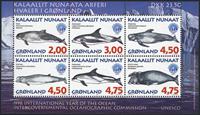 Grønland - 1998. Hvaler i Grønland - Miniark