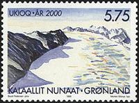 Greenland - Year 2000 - 5,75 kr - Multicoloured