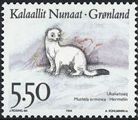 Greenland - 1994. Animals of Greenland Part II - 5,50 kr - Multicoloured