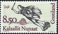 Greenland - 1995. Figureheads Series Part II - 8,50 kr - Multicoloured