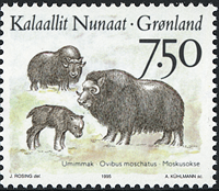 Greenland - 1995. Animals of Greenland Part III - 7,50 kr - Multicoloured