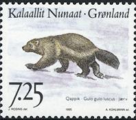 Greenland - 1995. Animals of Greenland Part III - 7,25 kr - Multicoloured